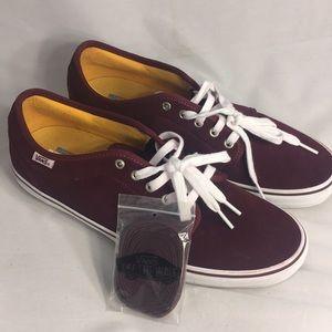 Vans Men's 13 Maroon Skate Shoes